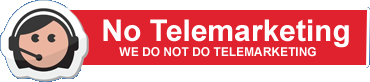 no telemarketing banner
