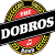 The Dobros Logo with 'band' no background