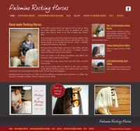 Palomino Rocking Horses