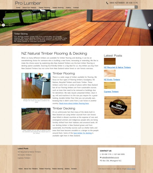 NZ Timbers